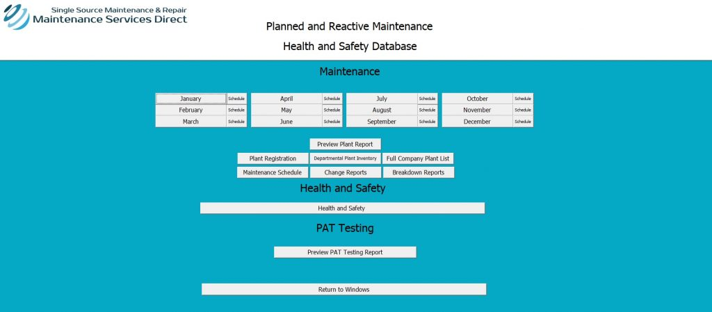 Industrial Database Systems by Maintenance Services Direct